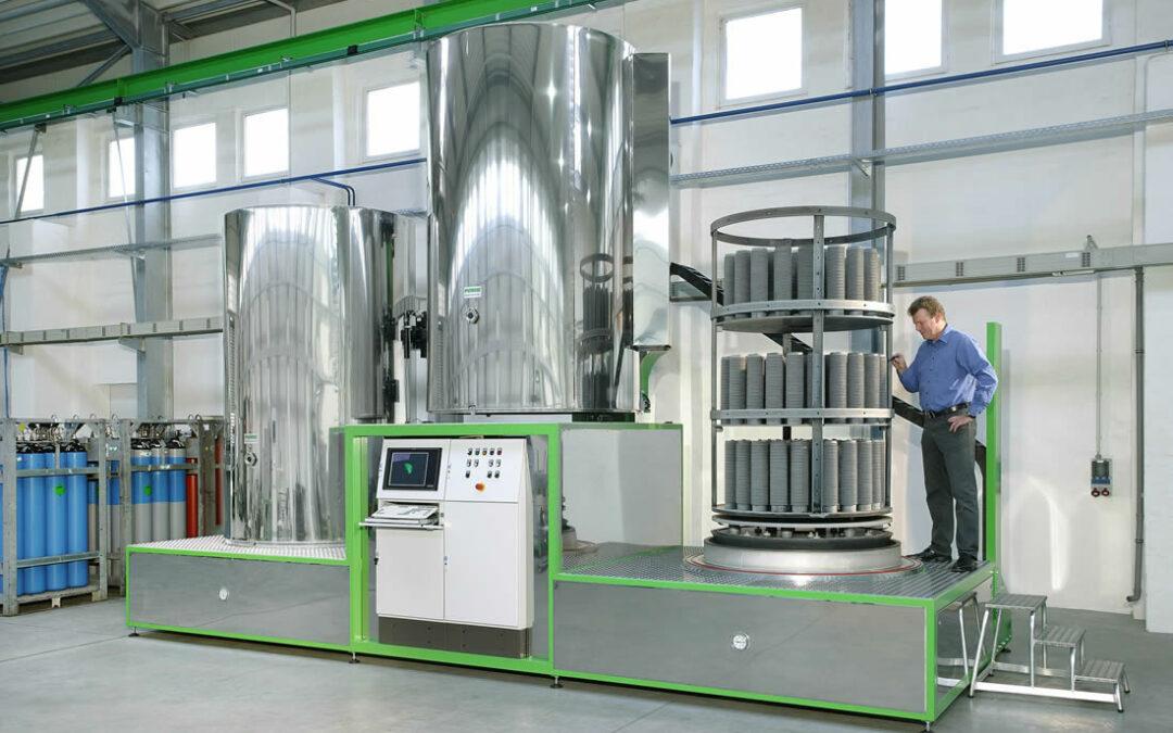 STAV ha installato un nuovo impianto di NITRURAZIONE IONICA