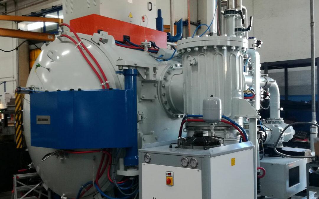 E' stato installato un nuovo impianto di tempra in alto vuoto e siamo in attesa di un nuovo forno da rinvenimento