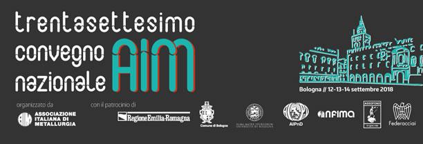 STAV spa partecipa al 37° Convegno Nazionale AIM a Bologna del 12-14 settembre 2018